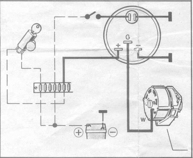 connecting an alternator to an albacombi  calibration
